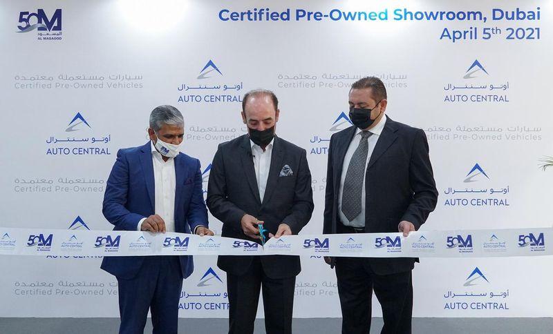 """مجموعة المسعود تُدشن أولى صالات عرض """"أوتوسنترال"""" للسيارات المستعملة والمعتمدة لمختلف العلامات التجارية في دبي"""