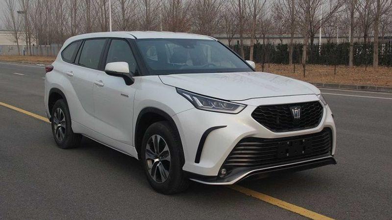 تويوتا كراون SUV تظهر في صور رسمية من وزارة الصناعة وتكنولوجيا المعلومات الصينية