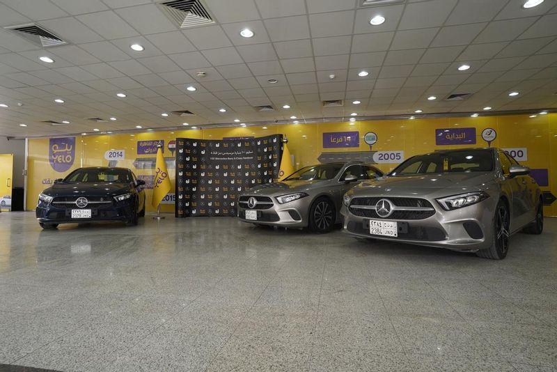 """""""الجفالي"""" و""""يلو"""" تبرمان صفقة لتوريد 100 سيارة مرسيدس – بنز الفئة A"""