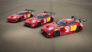 مرسيدس AMG تكشف عن 3 سيارات سباق حصرية احتفالًا بنصف قرن من النجاح الرياضي