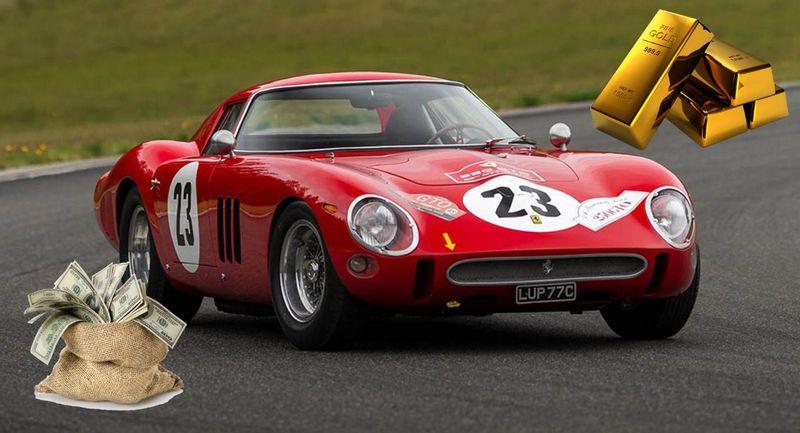 فيراري 250 GTO الآن أصبحت قيمتها أكثر من وزنها ذهباً
