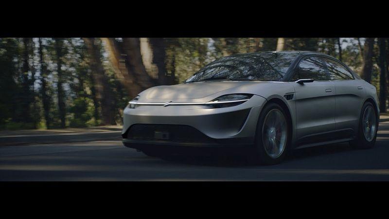 سوني تكشف عن سيدان كهربائية اختبارية بنظام قيادة ذاتية متطور
