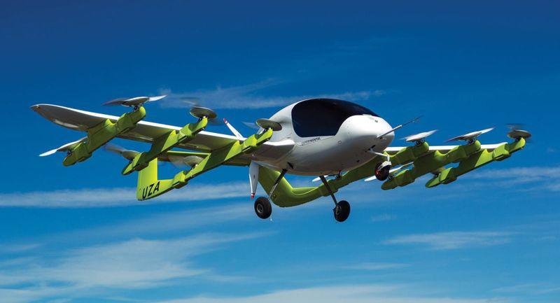 بوينج تتعاون مع جوجل لتطوير السيارة الطائرة الذاتية