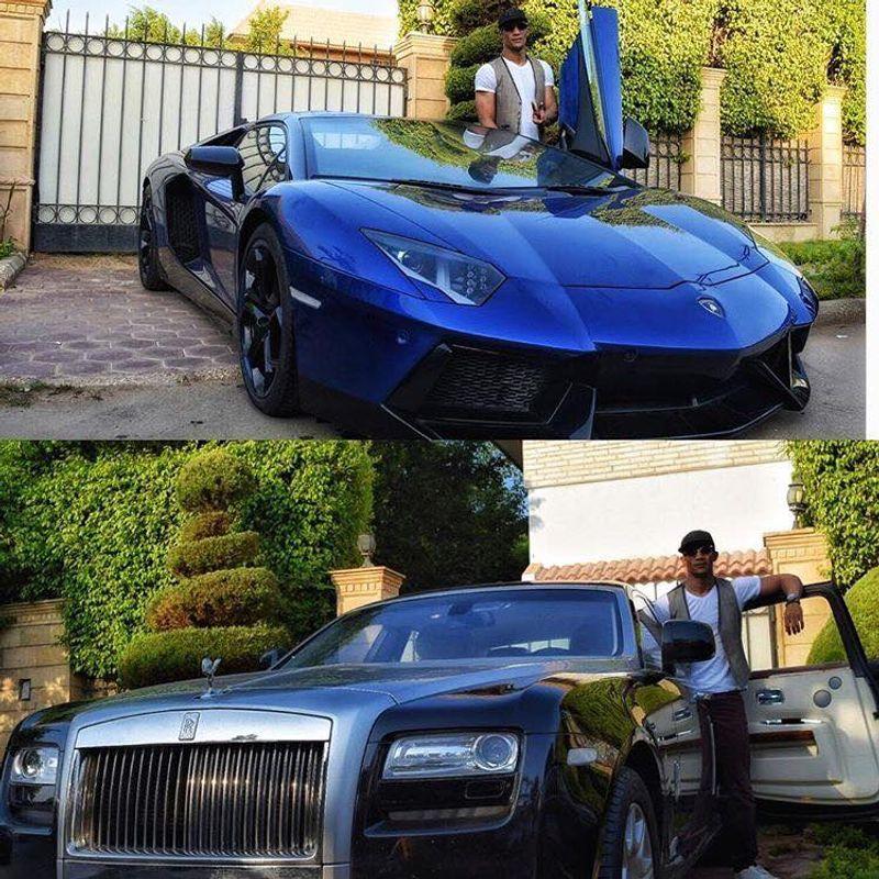 مقارنة بين السيارات الخاصة لنجم الكرة محمد صلاح والممثل محمد رمضان
