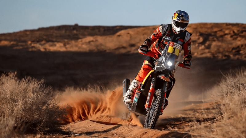 رالي داكار2020 | برايس يفوز بالمرحلة الخامسة لفئة الدراجات النارية