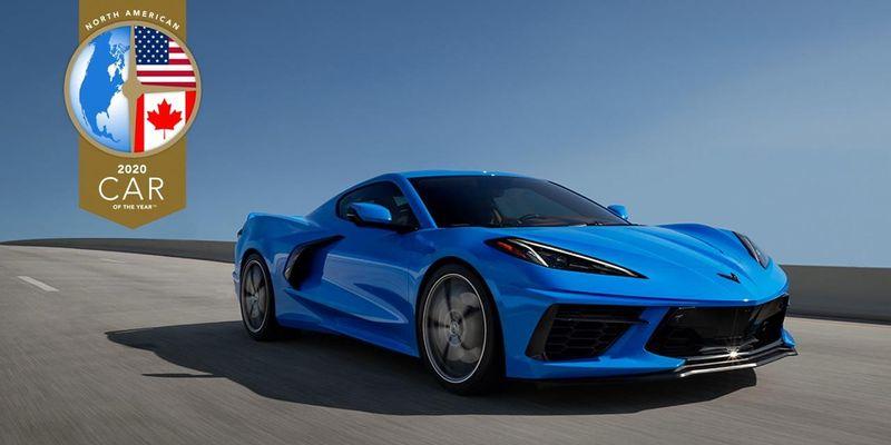 شفروليه كورفيت تفوز بجائزة أفضل سيارة في أمريكا الشمالية لعام 2020