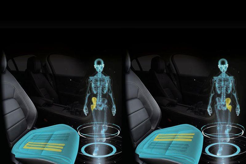 جاكوار لاند روفر تصنع مقاعد تحاكي عملية المشي أثناء القيادة