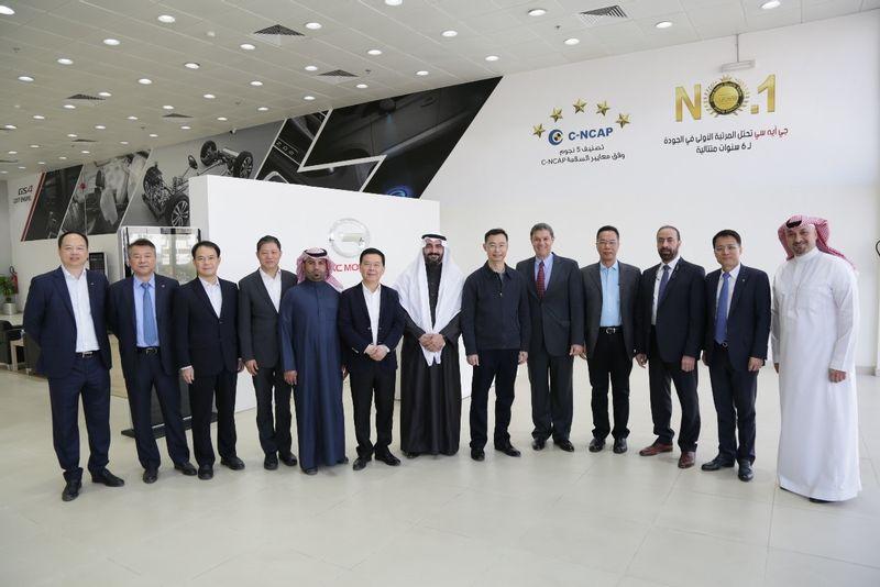 جي ايه سي موتور تطلق سيارة GN8 في السعودية
