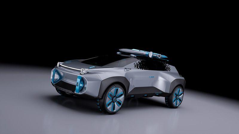 تحويل داستر إلى سيارة قادمة من أفلام الخيال العلمي
