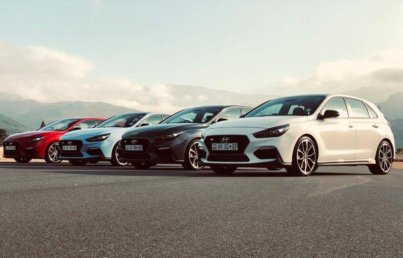 """هيونداي تطلق الجيل الجديد من سيارتها الرياضية """"آي 30 ان"""" في جنوب أفريقيا"""