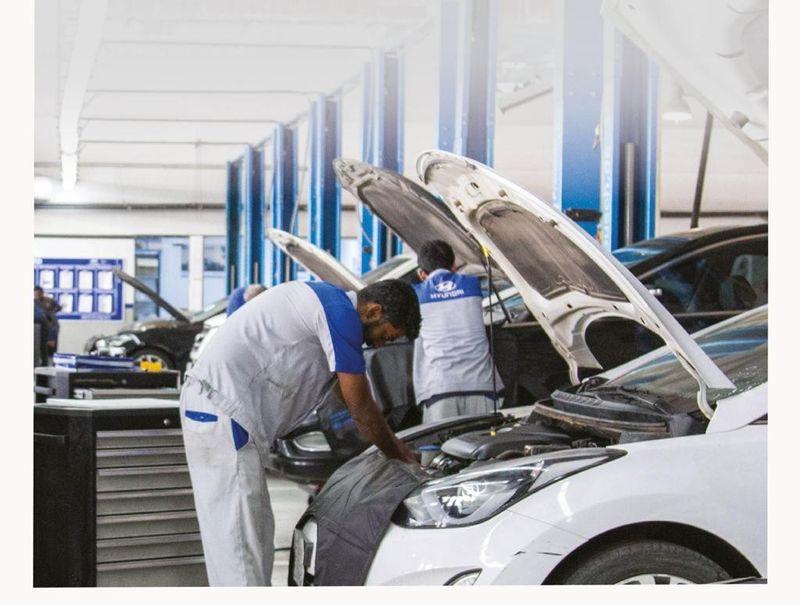 عروض ترويجية لمراكز الصيانة لدى شركة الناغي للسيارات هيونداي